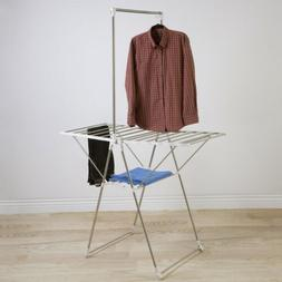 Heavy Duty Laundry Drying Rack- Stainless Steel Clothing She