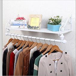 Iron clothing racks / clothing store shelf / display stand /