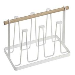 Taloyer Japanese Cup Holder Drying Storage Rack Hanging Hold