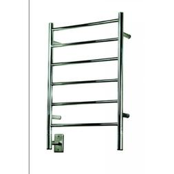 Jeeves Wall Mount Electric J Straight Towel Warmer - Finish: