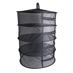 Kagnice Collapsible 4 Layer Mesh Dry Net Hanging Drying Rack