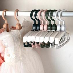 Kids Baby Hangers Drying Racks Non-slip Children Storage Clo