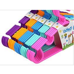 Morrenz - Kids Clothes Hangers 5pcs/Lot Portable 270 Degree