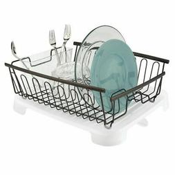 mDesign mDesign Large Kitchen Countertop, Sink Dish Drying R