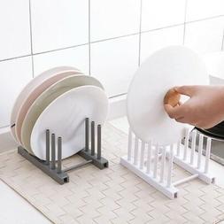 Kitchen Dish Bowl Plate Drying Utensils Rack Organizer Drain