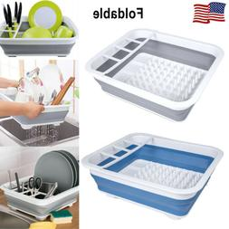 Kitchen Dish Cup Drying Rack Drainer Cutlery Holder Organize