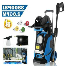 3500PSI 2.6GPM Electric Pressure Washer Powerful Cold Water