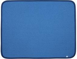 DRI Kitchen Dish Drying Mat Extra Large in Blue 2 Pack