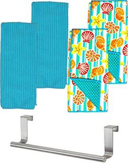 GBBD Kitchen Dish Drying Mats with Dish Towels and Over the