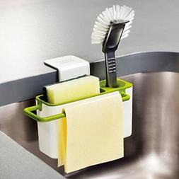 Cozy Homy Kitchen Draining Rack Detergent Box Sponge Holder