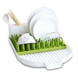 ALPHELIGANCE Kitchen Sink Dish Drainer Tot Bottle Accessorie