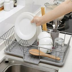 Kitchen Sink Dish Drying Rack and Draining Board  with Chops
