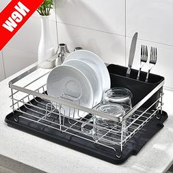POPILION Quality Kitchen Sink Side Draining Chrome Stainless