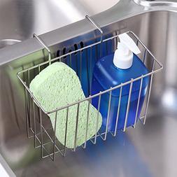 Moyad Sponge Holder Sink Caddy Drainer Rack Stainless Steel
