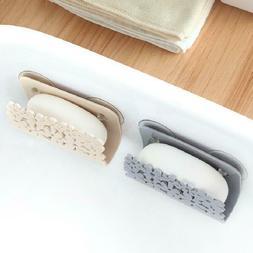 Kitchen Sponges Holder Rack Drying Sink Storage Bathroom Cup