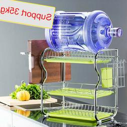 Kitchen Storage 3 Tiers Dish Cup Drying Rack Holder Organize