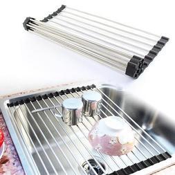 Kitchen Utensil Dish Drying Rack Organizer Home Accessories