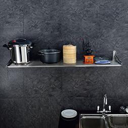 KES 40-Inch Kitchen Wall Shelf Pot Pan Rack Wall Mount Cookw