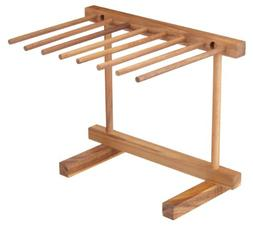 Kitchencraft Italian Pasta Drying Stand, 30x36x2.5cm, Displa
