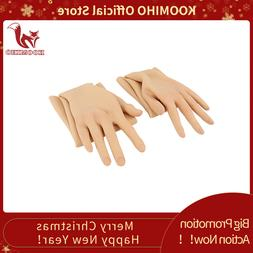 KOOMIHO Crossdressing Female Silicone Gloves Realistic Skin