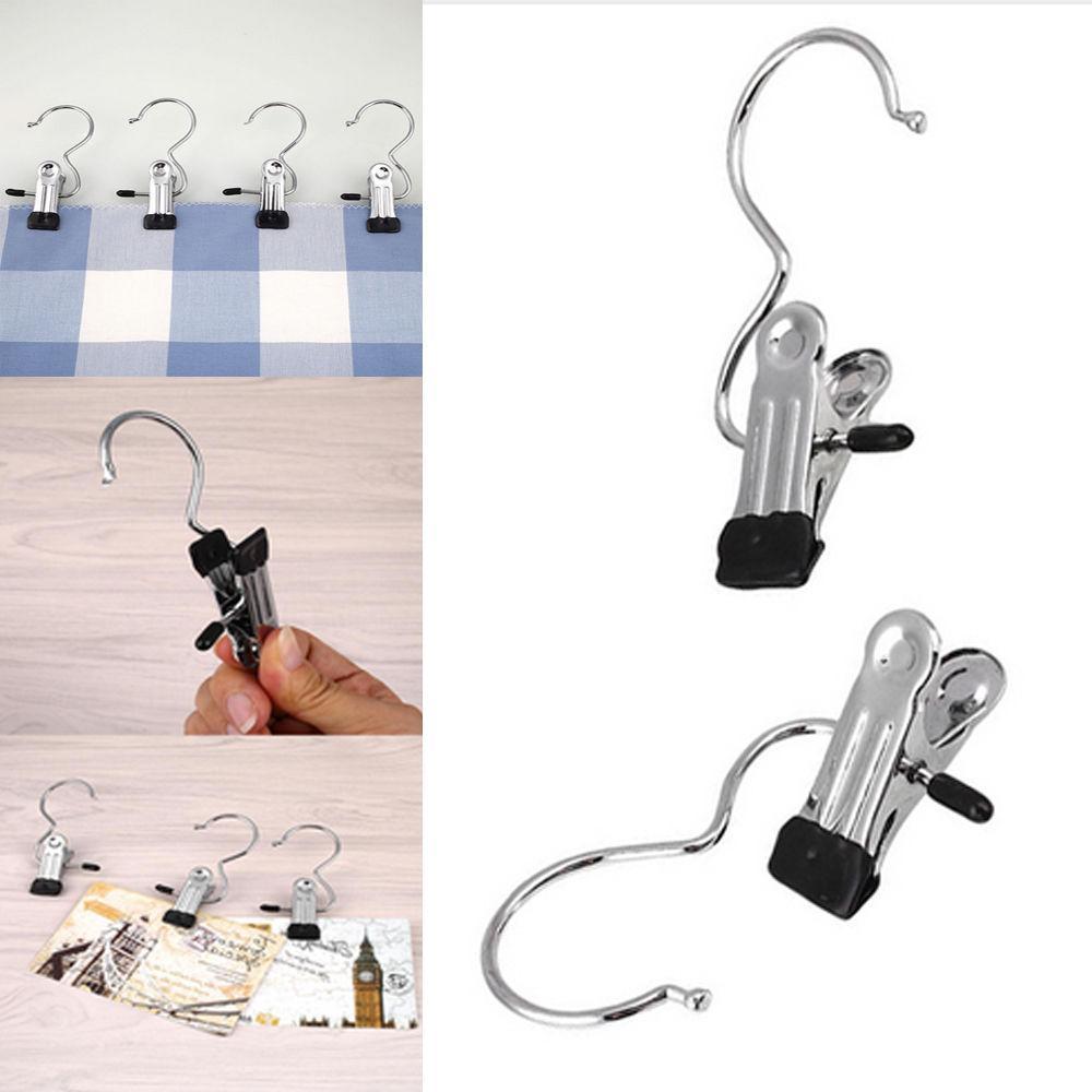 1/5Pcs Stainless Steel Drying Hook Hanger