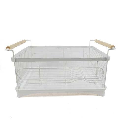 1-Tier Dish Drying Steel Wash