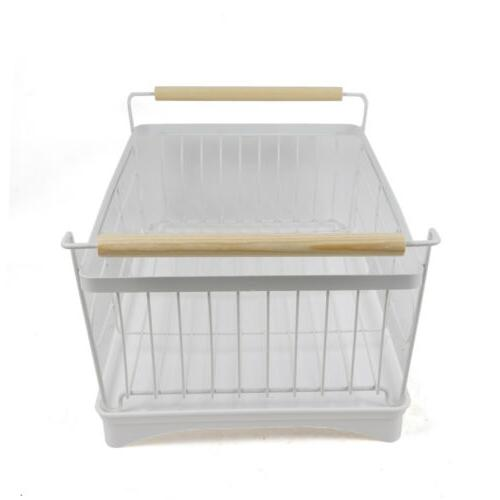 1-Tier Drying Rack Wash Storage