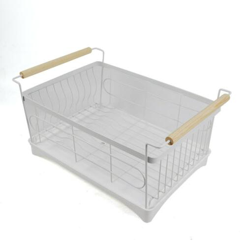 1-Tier Dish Drainer Drying Wash Organizer