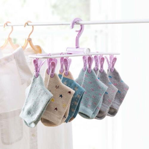 12 Clip Drip Clothes Bra Underwear Undies Dryer