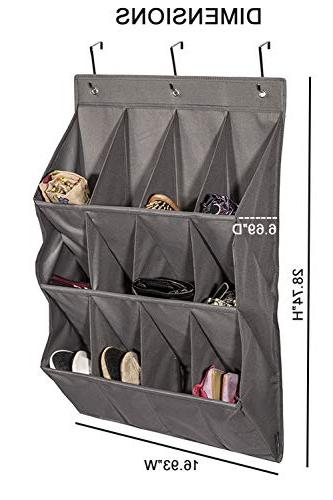 STORAGE Over The Hanging Organizer, Large Gary,