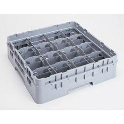 """Cambro 16 Compartment Camrack, CUP 4 1/4"""", Gray  Category: W"""