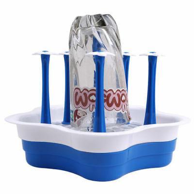 1PC Glass Bottle Rack Cup Mug Holder Stand PF