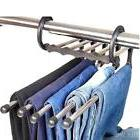1pc Home Clothes Coat Drying Trousers Jeans Scraf Hangers Ra