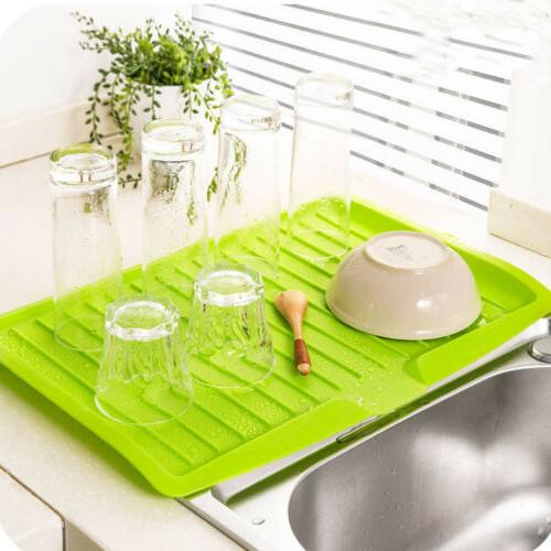 1pc Kitchen Drainer Large Drying Rack