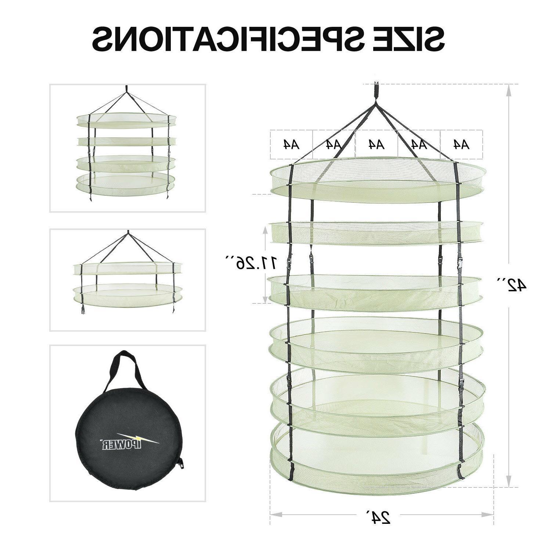 iPower 2 6 Plant Drying Net