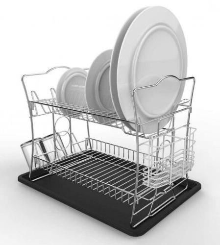 IZLIF 2-Tier Chrome and Drainboard