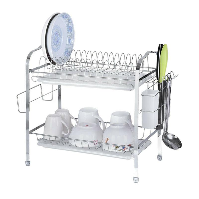 2-Tier Organizer Home Collection Shelf Stock