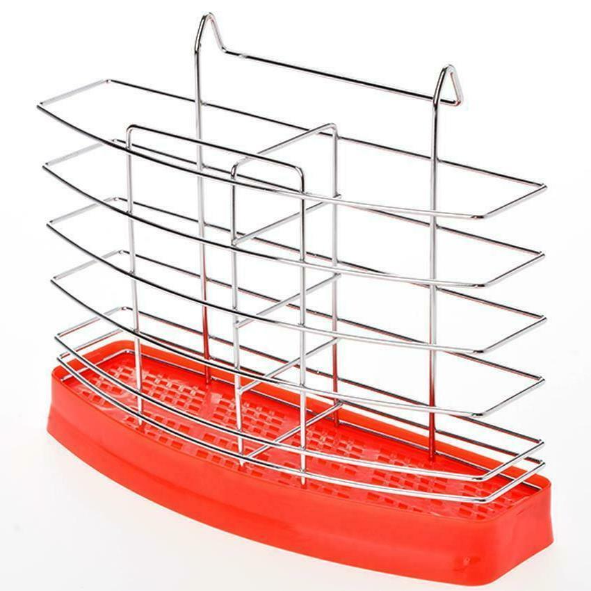 2-Tier Stainless Drainer Home Kitchen Storage