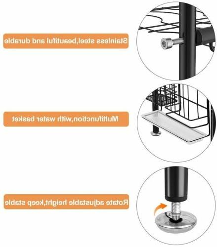 2 Tier Sink Drying Dish and Stainless