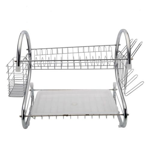 Durable Tiers Cup Drying Organizer Dryer Tray