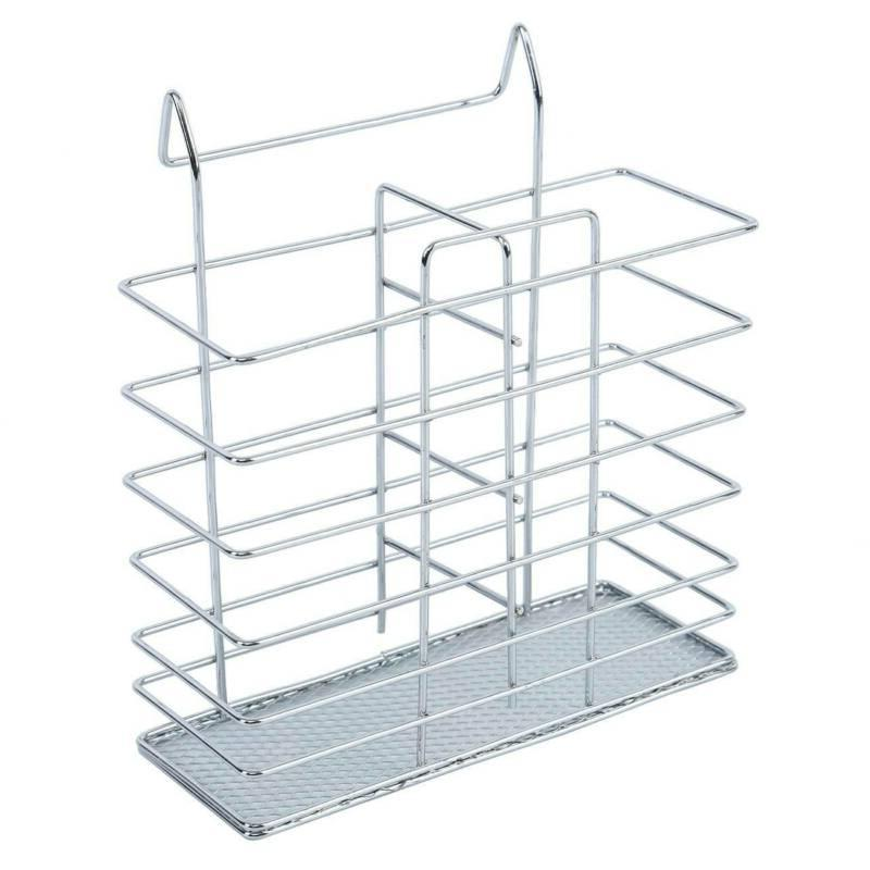 2 Steel Capacity Dish Drainer Rack