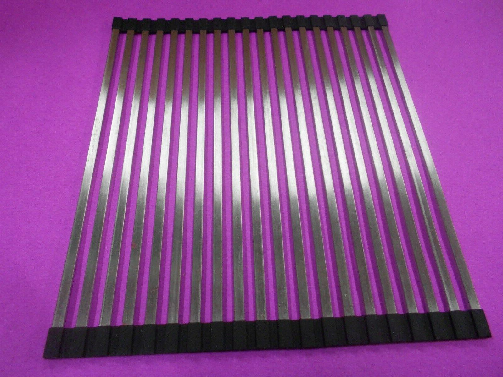 20 tube roll up sink grid cover