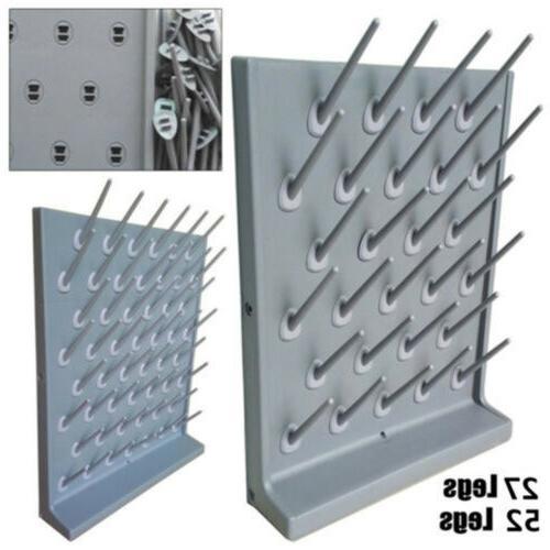 Laboratory Drying Rack Lab PP Draining Peg Board Wall Mount