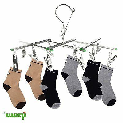 2set Clothes Socks Underwear Hanger Stainless