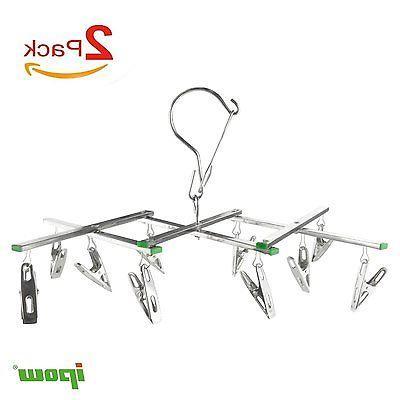 2set Clothes Underwear Hanger Stainless Steel
