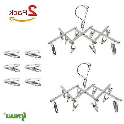 2set Underwear Drying Rack Hanger Stainless Steel