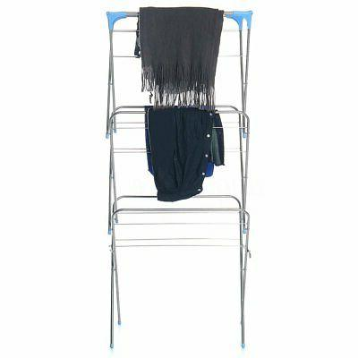 3-Layer Clothes Airer Laundry