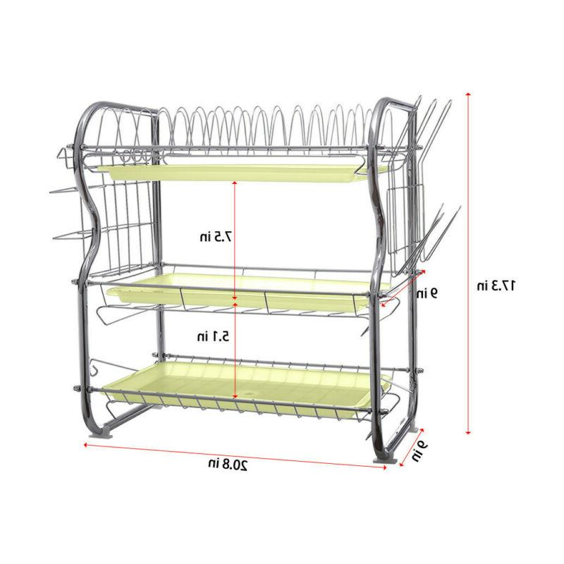 Dish Dish Drying Rack Over Sink Drainer US