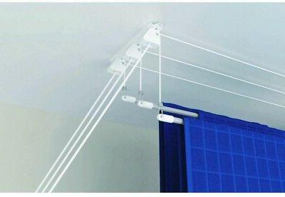 Drying Rack 3-Rod Lift Ceiling