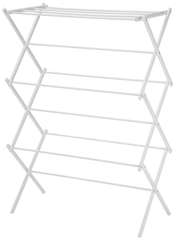 3 tier foldable drying rack for clothes